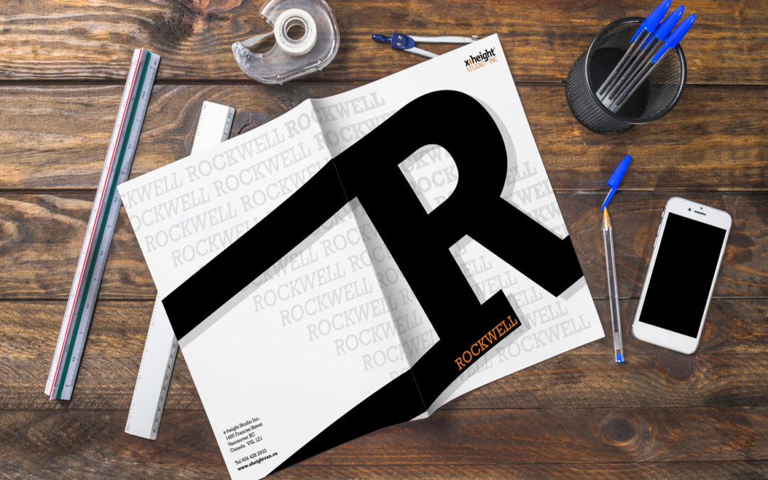 Rockwell Typeface Booklet