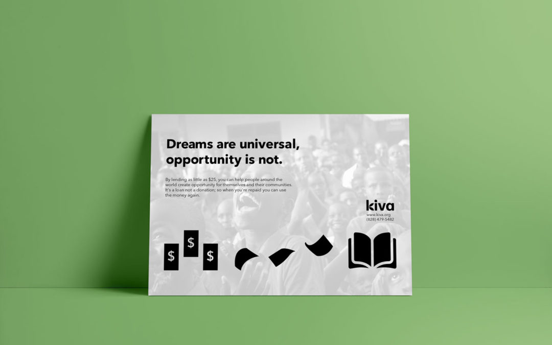 Kiva Non-Profit Advertising